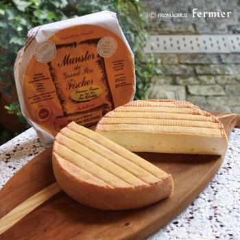 【今月のチーズ】マンステール オ レ クリュ MUNSTER FERMIER AU LAIT CRU