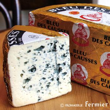 【今月のチーズ】ブルー デ コース BLEU DES CAUSSES