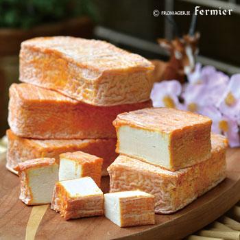 【今月のチーズ】ブリケット ド レカイヨン BRIQUETTE DE L'ECAILLON