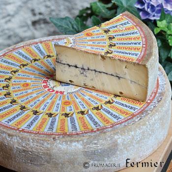 【今月のチーズ】モルビエ レ クリュ MORBIER LAIT CRU