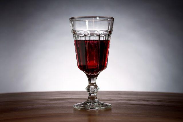 赤ワインのカクテル(キティ)