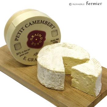 【今月のチーズ】プティ カマンベール パストリゼ グランドルジュ社 PETIT CAMEMBERT PASTEURISE GRAINDORGE