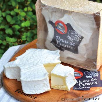 【今月のチーズ】フルール ド フランス FLEURS DE FRANCE