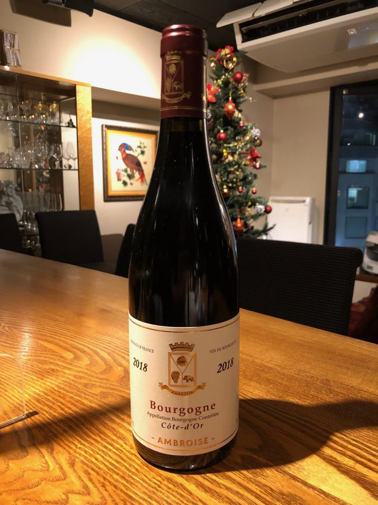 Bertrand AMBROISE 2018 Bourgogne Cote d'Or Rouge