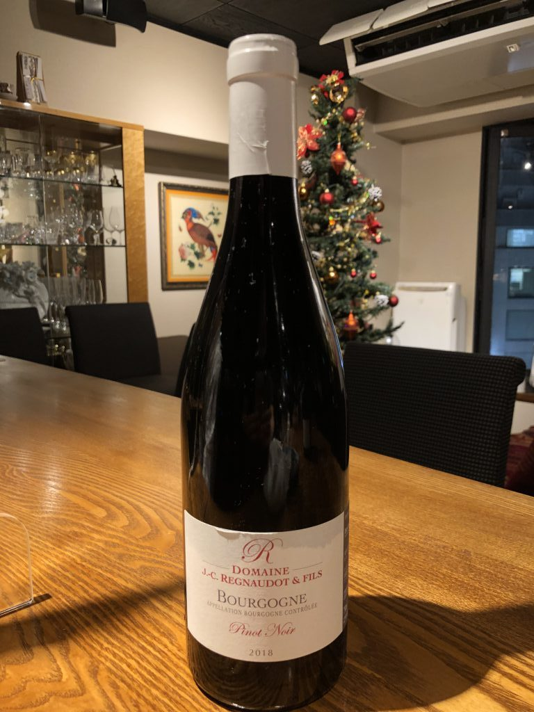 Jean Claude REGNAUDOT Maranges Rouge / Bourgogne Pinot Noir
